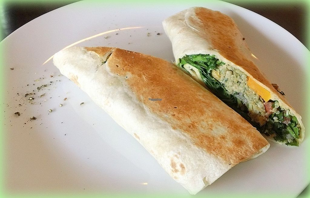 "Photo of The Annex Cafe  by <a href=""/members/profile/cvxmelody"">cvxmelody</a> <br/>Vegan wrap <br/> January 4, 2017  - <a href='/contact/abuse/image/34297/208199'>Report</a>"