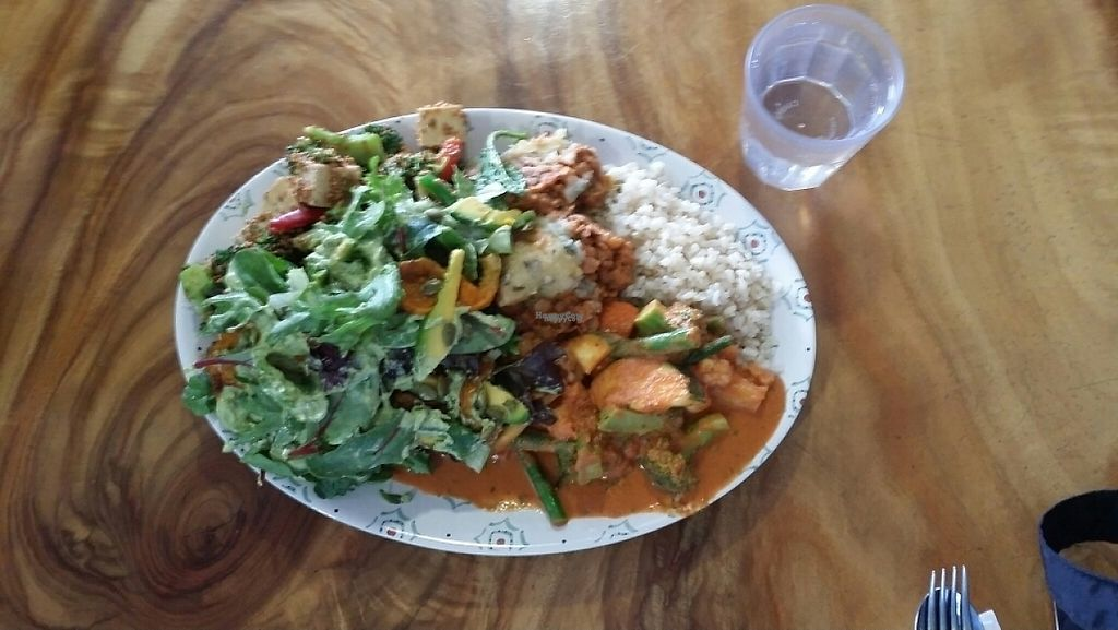 """Photo of Giri Kana Cafe  by <a href=""""/members/profile/Mike%20Munsie"""">Mike Munsie</a> <br/>abundant - 5 choices with rice $20 <br/> February 27, 2017  - <a href='/contact/abuse/image/34310/230951'>Report</a>"""