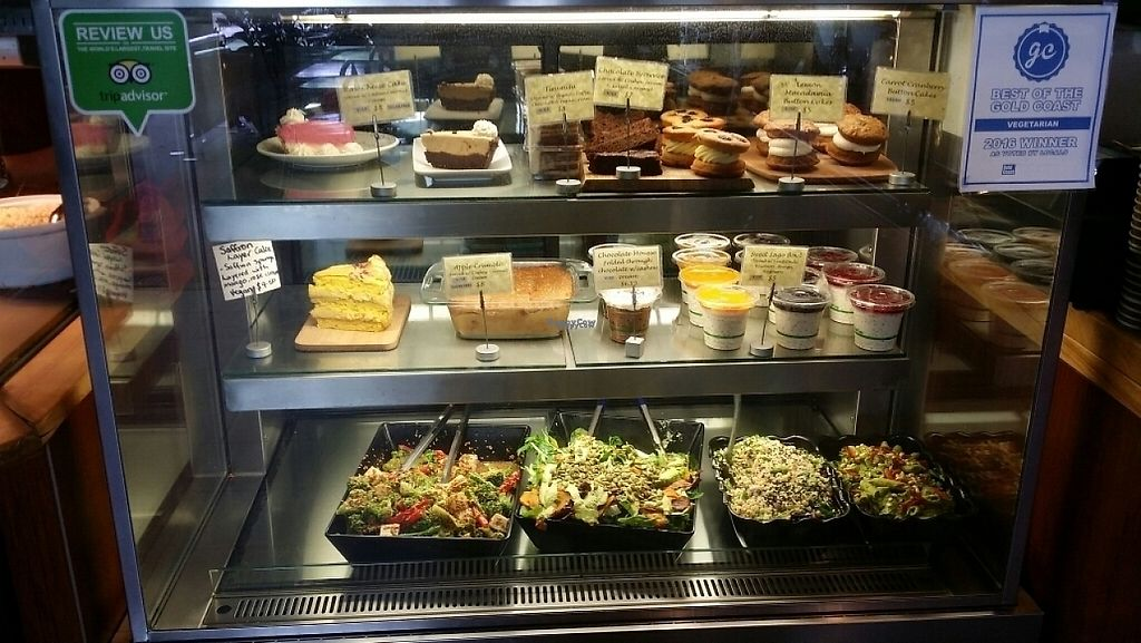 """Photo of Giri Kana Cafe  by <a href=""""/members/profile/Mike%20Munsie"""">Mike Munsie</a> <br/>display case <br/> February 27, 2017  - <a href='/contact/abuse/image/34310/230952'>Report</a>"""