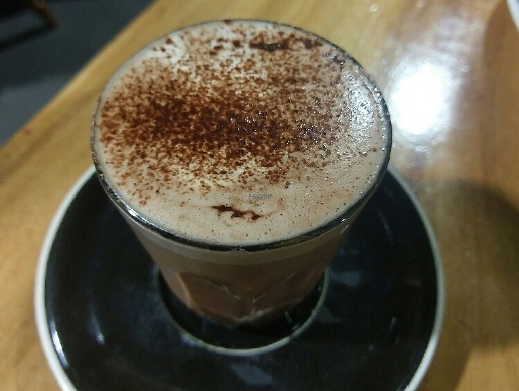 """Photo of Giri Kana Cafe  by <a href=""""/members/profile/charmagama"""">charmagama</a> <br/>hot chocolate (vegan)  <br/> November 17, 2016  - <a href='/contact/abuse/image/34310/254280'>Report</a>"""