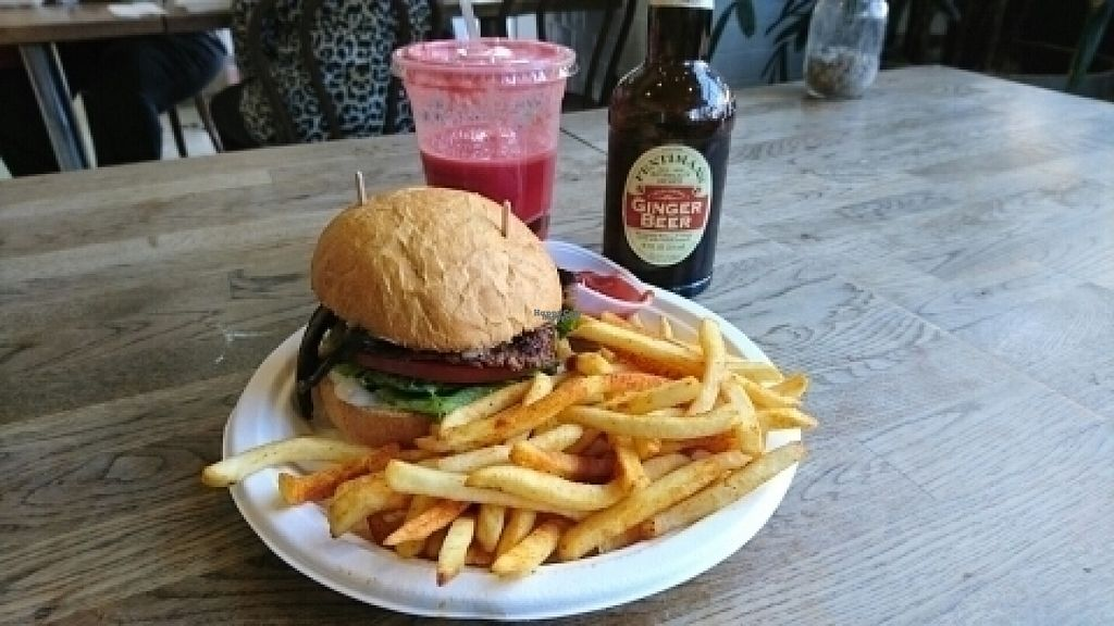 """Photo of Healthy Junk  by <a href=""""/members/profile/RyeDrummond"""">RyeDrummond</a> <br/>Portobello Burger <br/> August 16, 2016  - <a href='/contact/abuse/image/34315/169328'>Report</a>"""