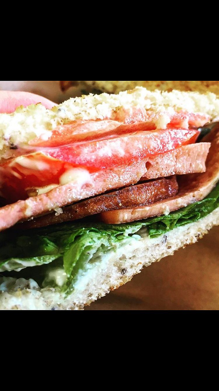 """Photo of Healthy Junk  by <a href=""""/members/profile/heathenvegan"""">heathenvegan</a> <br/>BLT <br/> November 22, 2017  - <a href='/contact/abuse/image/34315/328203'>Report</a>"""