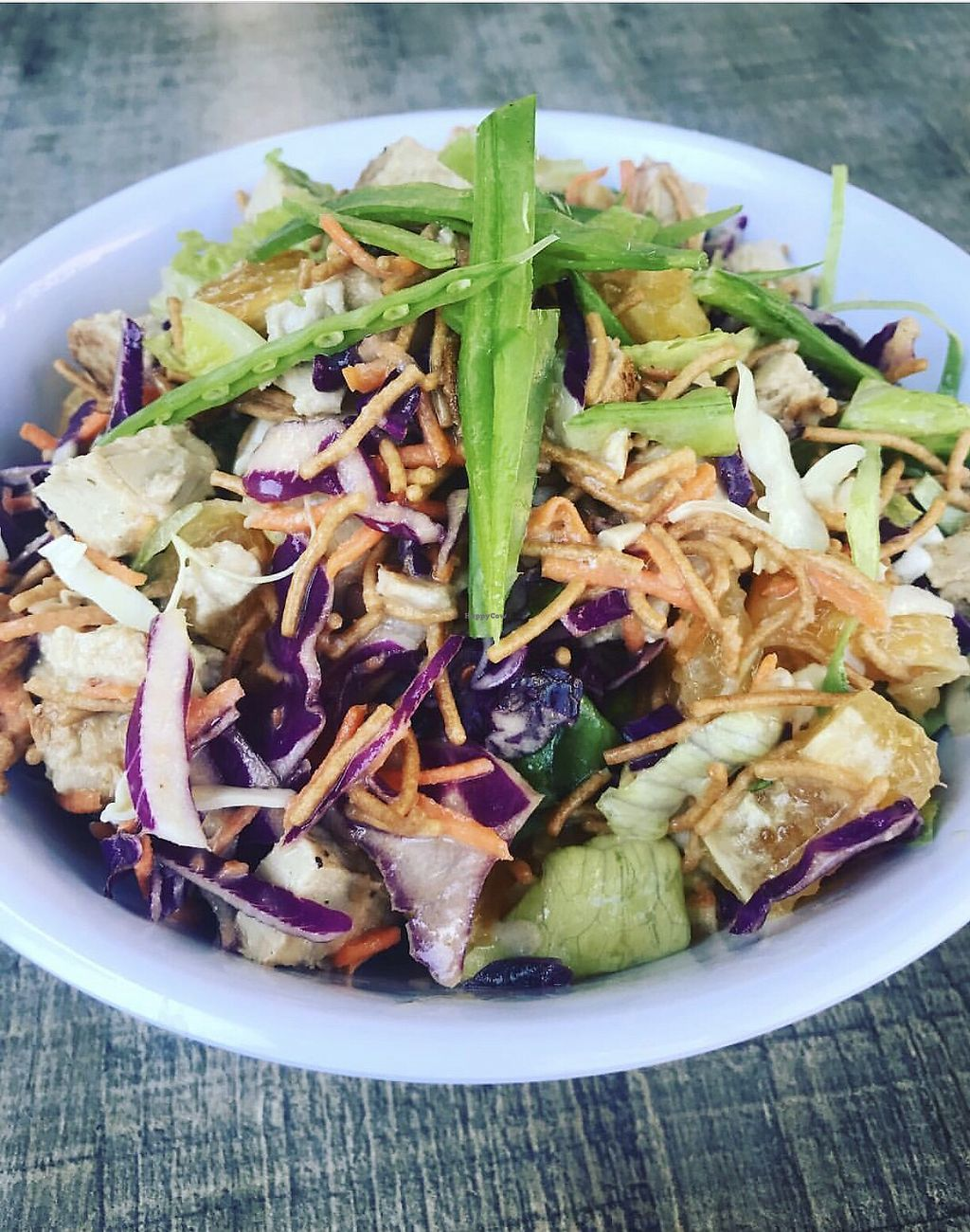 """Photo of Healthy Junk  by <a href=""""/members/profile/SoWo1999"""">SoWo1999</a> <br/>Chinese Chick Salad  <br/> January 14, 2018  - <a href='/contact/abuse/image/34315/346687'>Report</a>"""
