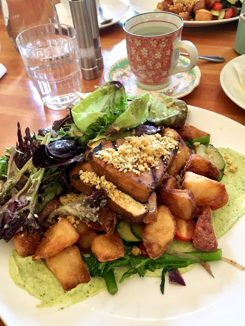 """Photo of Heirloom Vegetarian  by <a href=""""/members/profile/vegan%20frog"""">vegan frog</a> <br/>Vegan hash <br/> April 12, 2018  - <a href='/contact/abuse/image/34325/384316'>Report</a>"""
