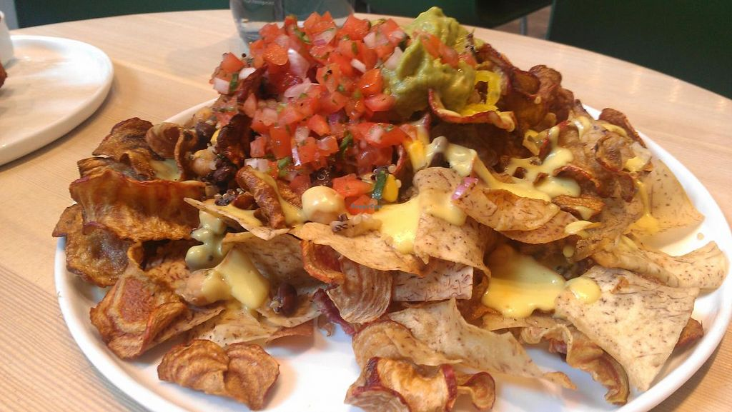"""Photo of Heirloom Vegetarian  by <a href=""""/members/profile/kenvegan"""">kenvegan</a> <br/>Nachos <br/> July 24, 2014  - <a href='/contact/abuse/image/34325/74970'>Report</a>"""