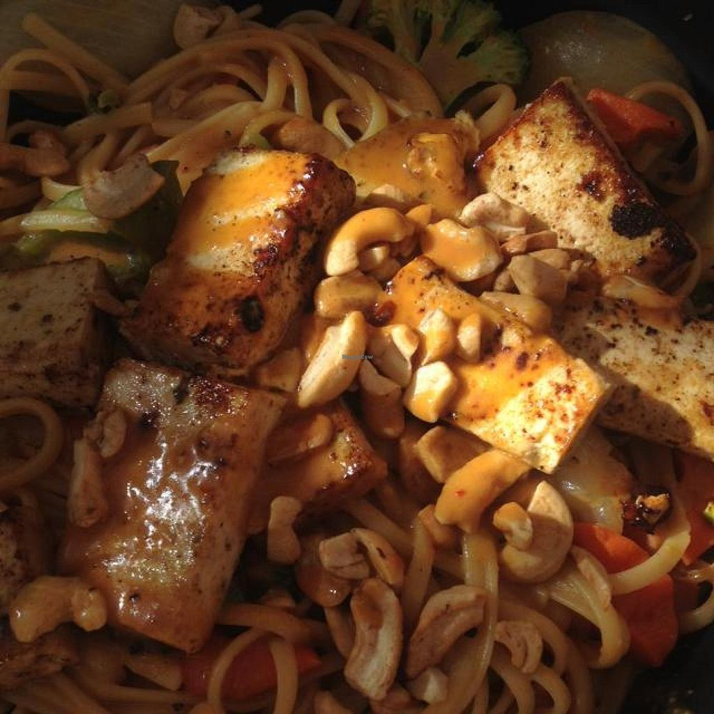 "Photo of Rainbow Restaurant  by <a href=""/members/profile/ljmp2571"">ljmp2571</a> <br/>Thai peanut pasta with grilled tofu <br/> October 30, 2014  - <a href='/contact/abuse/image/3432/84247'>Report</a>"