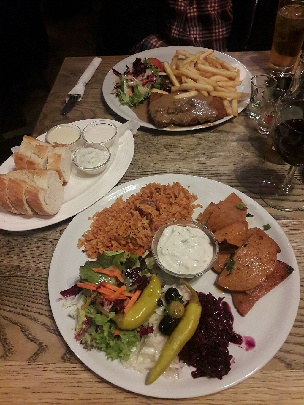 """Photo of Feldstern  by <a href=""""/members/profile/Scarify"""">Scarify</a> <br/>kebap with rice and schnitzel with fries  <br/> March 30, 2018  - <a href='/contact/abuse/image/34342/378302'>Report</a>"""