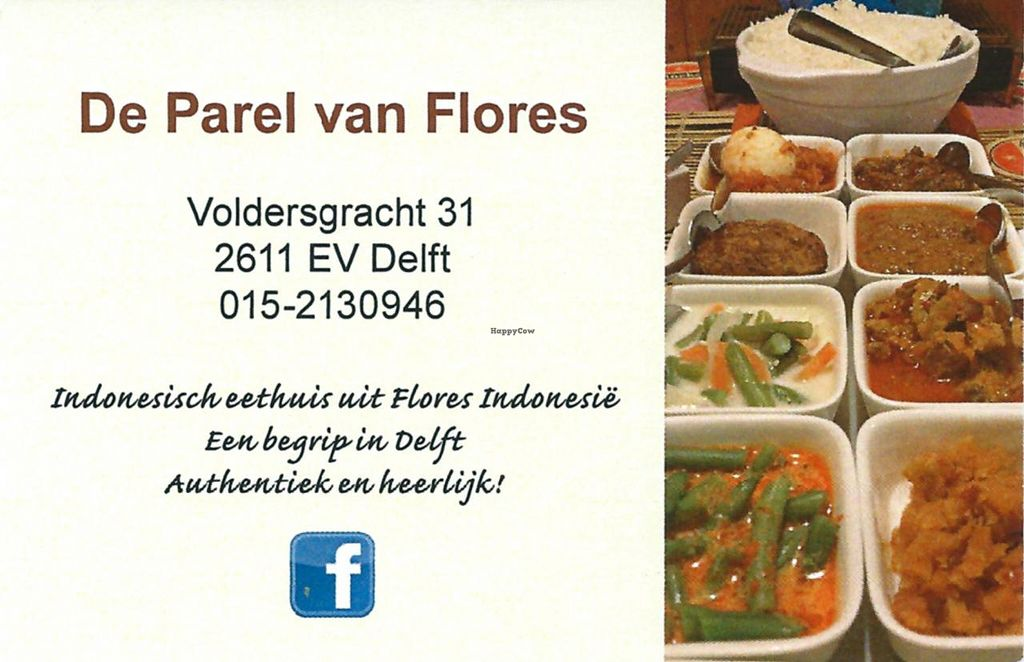"""Photo of De Parel van Flores  by <a href=""""/members/profile/Gudrun"""">Gudrun</a> <br/>Business card <br/> November 16, 2014  - <a href='/contact/abuse/image/34351/85759'>Report</a>"""