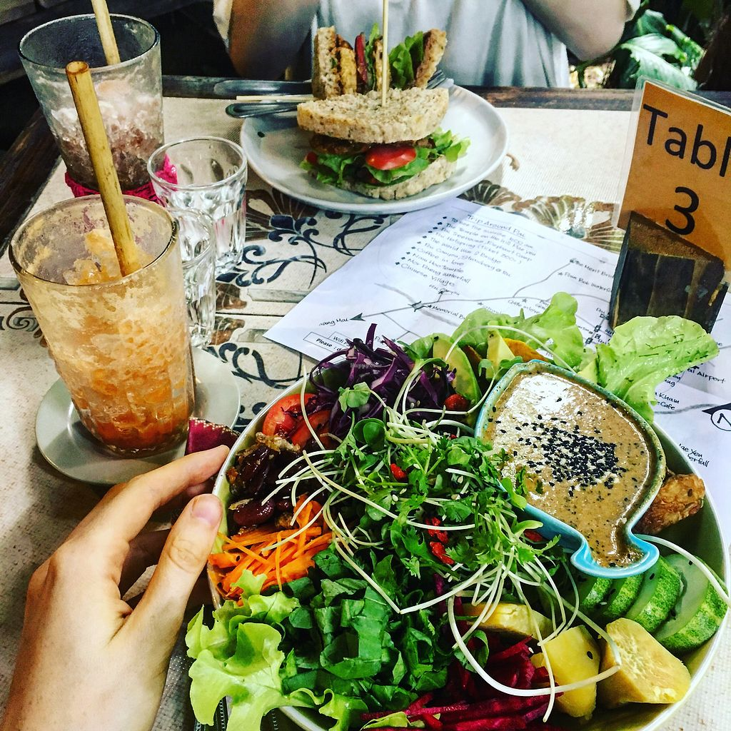 """Photo of Earth Tone  by <a href=""""/members/profile/jessana"""">jessana</a> <br/>buddhabowl is the best!!!! and the thai iced tea with coconut milk <br/> August 27, 2017  - <a href='/contact/abuse/image/34371/297885'>Report</a>"""