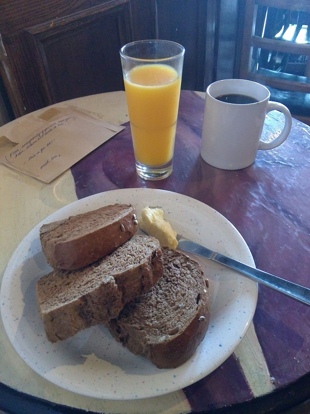 """Photo of The Forest Cafe  by <a href=""""/members/profile/Ryecatcher"""">Ryecatcher</a> <br/>breakfast deal <br/> September 16, 2015  - <a href='/contact/abuse/image/34384/117996'>Report</a>"""