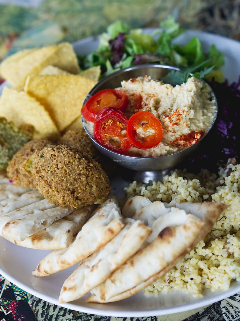 """Photo of The Forest Cafe  by <a href=""""/members/profile/EmmaFaeEdinburgh"""">EmmaFaeEdinburgh</a> <br/>Falafel meal <br/> March 4, 2018  - <a href='/contact/abuse/image/34384/366787'>Report</a>"""