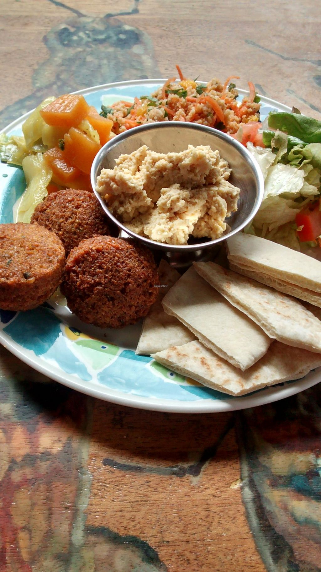 """Photo of The Forest Cafe  by <a href=""""/members/profile/craigmc"""">craigmc</a> <br/>Falafel meal. Plenty of veg <br/> April 13, 2014  - <a href='/contact/abuse/image/34384/67565'>Report</a>"""