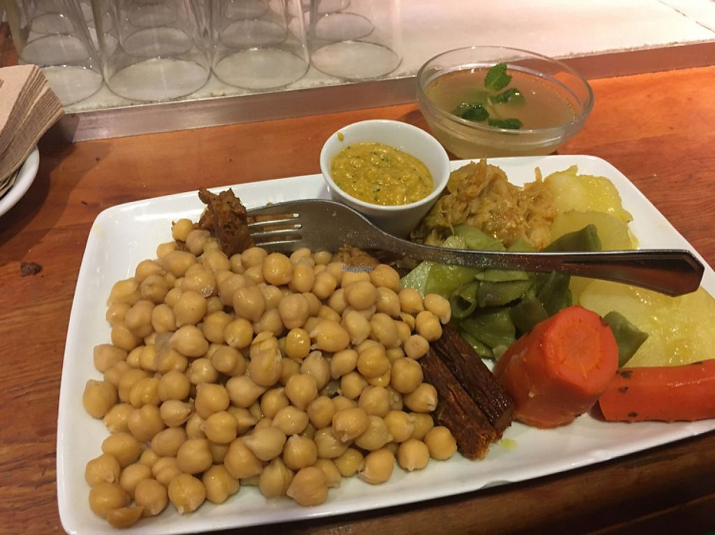 """Photo of Viva Chapata  by <a href=""""/members/profile/AndreaGros"""">AndreaGros</a> <br/>Cocido traditional Spanish dish vegan version <br/> December 22, 2016  - <a href='/contact/abuse/image/34396/203932'>Report</a>"""