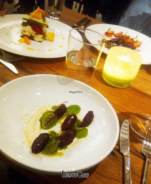 """Photo of CLOSED: M.A.K.E. Raw Cuisine  by <a href=""""/members/profile/kenvegan"""">kenvegan</a> <br/>M.A.K.E.'s gourmet raw food 'lasagna', 'gnocci' and 'tacos'. Just incredible! <br/> September 28, 2012  - <a href='/contact/abuse/image/34421/38536'>Report</a>"""