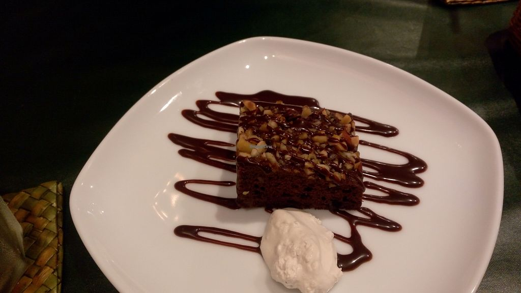"""Photo of Olu Olu Cafe  by <a href=""""/members/profile/NinomaeJyuuichi"""">NinomaeJyuuichi</a> <br/>Brownie with whipped cream <br/> November 6, 2015  - <a href='/contact/abuse/image/34448/124106'>Report</a>"""
