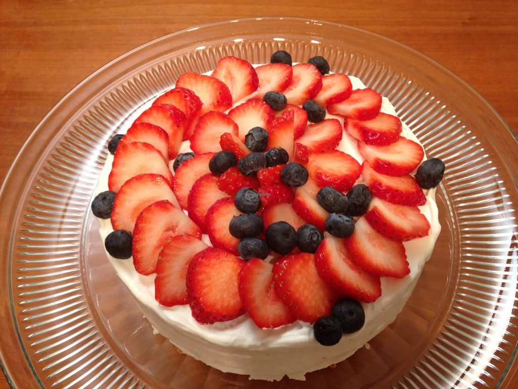 """Photo of Olu Olu Cafe  by <a href=""""/members/profile/Snowchild"""">Snowchild</a> <br/>Special order vegan cake!  <br/> January 8, 2015  - <a href='/contact/abuse/image/34448/89774'>Report</a>"""
