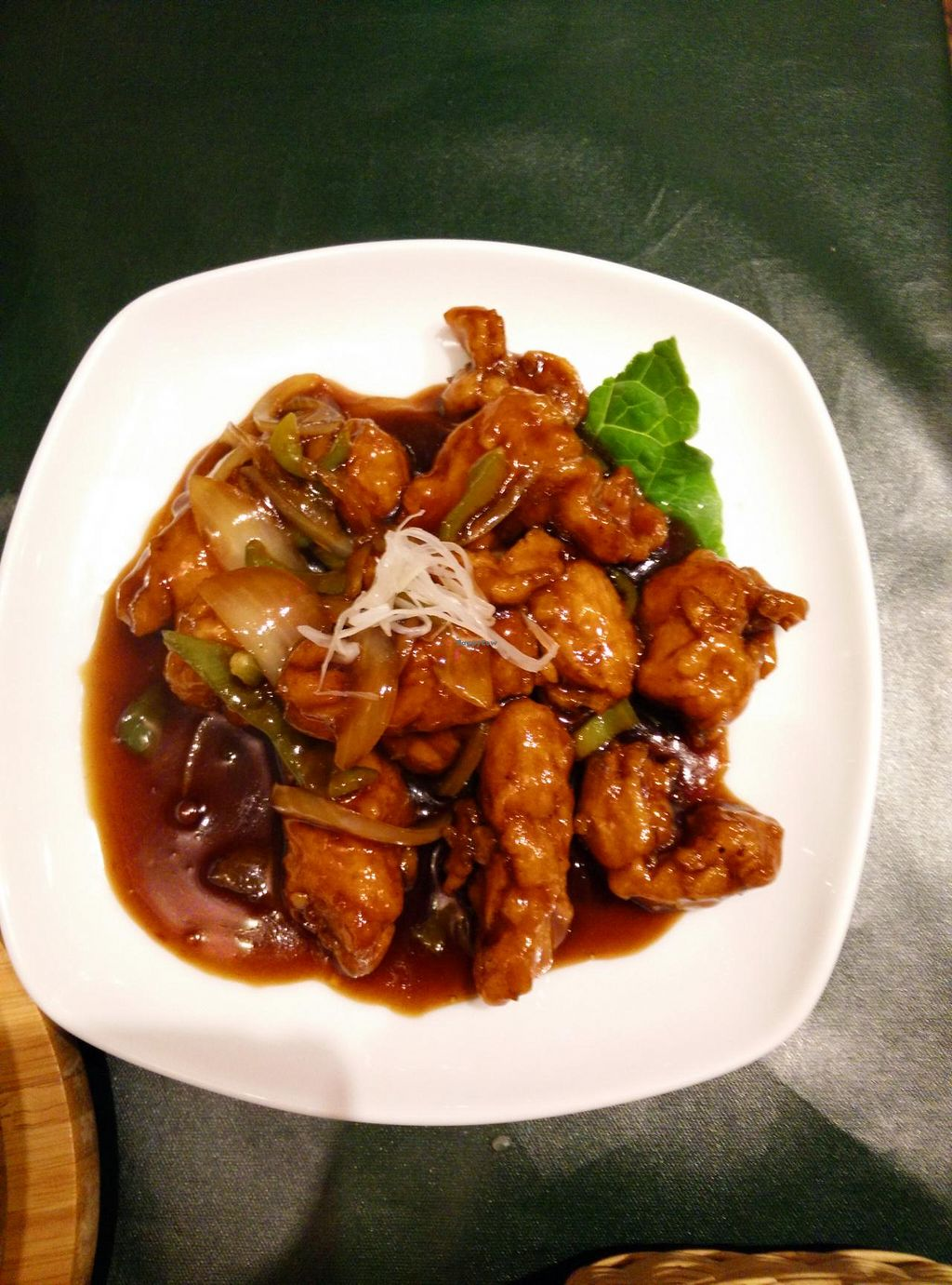 """Photo of Olu Olu Cafe  by <a href=""""/members/profile/Mochigirl"""">Mochigirl</a> <br/>Sweet and sour chicken <br/> March 30, 2015  - <a href='/contact/abuse/image/34448/97360'>Report</a>"""