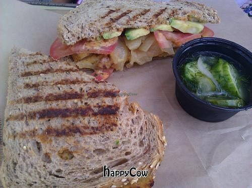 "Photo of Dogtown Coffee  by <a href=""/members/profile/eric"">eric</a> <br/>tempeh sandwich <br/> September 25, 2012  - <a href='/contact/abuse/image/34506/38448'>Report</a>"