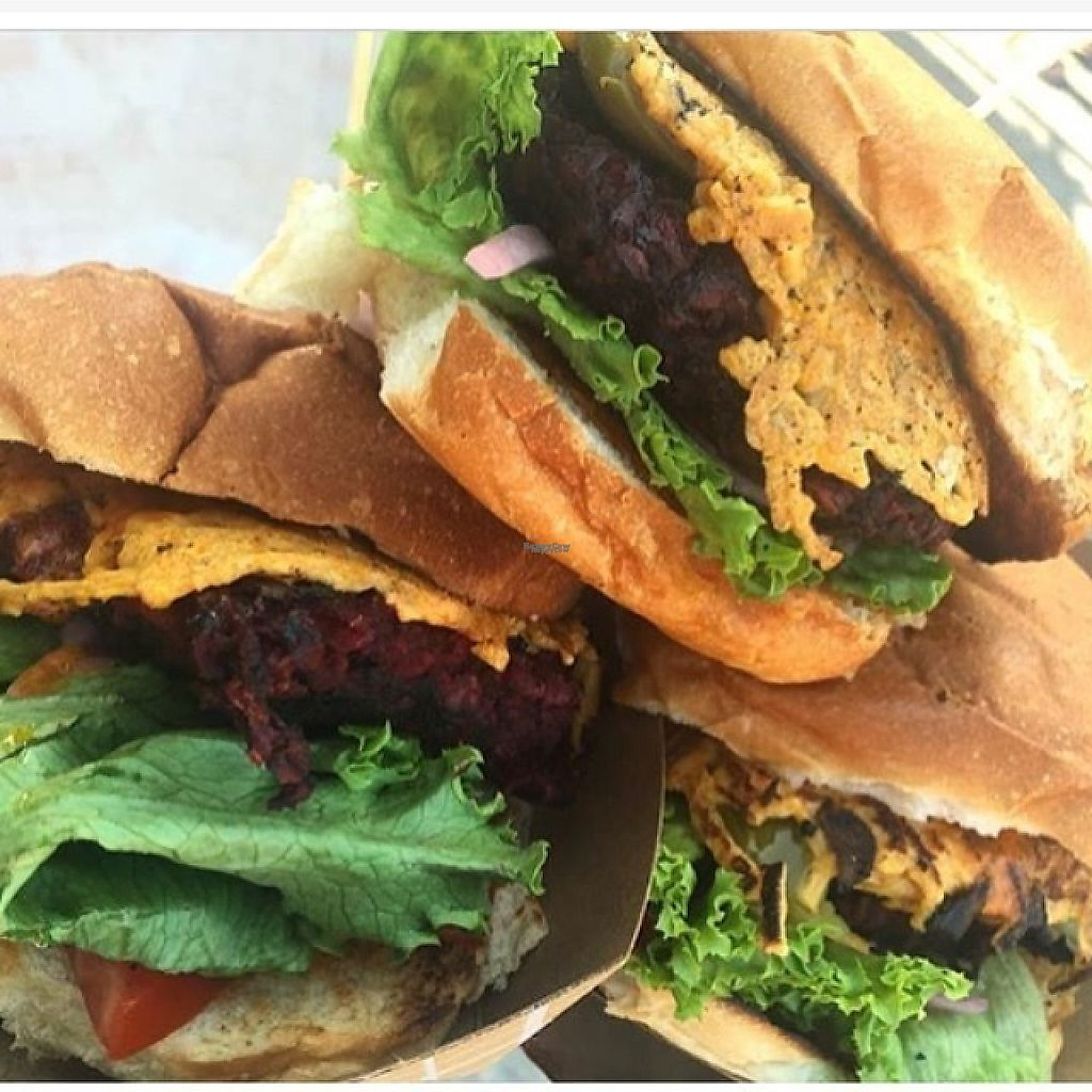 "Photo of Chickpea & Olive  by <a href=""/members/profile/chickpeaandolive"">chickpeaandolive</a> <br/>Phatty Beet Burgers <br/> February 11, 2017  - <a href='/contact/abuse/image/34582/225078'>Report</a>"