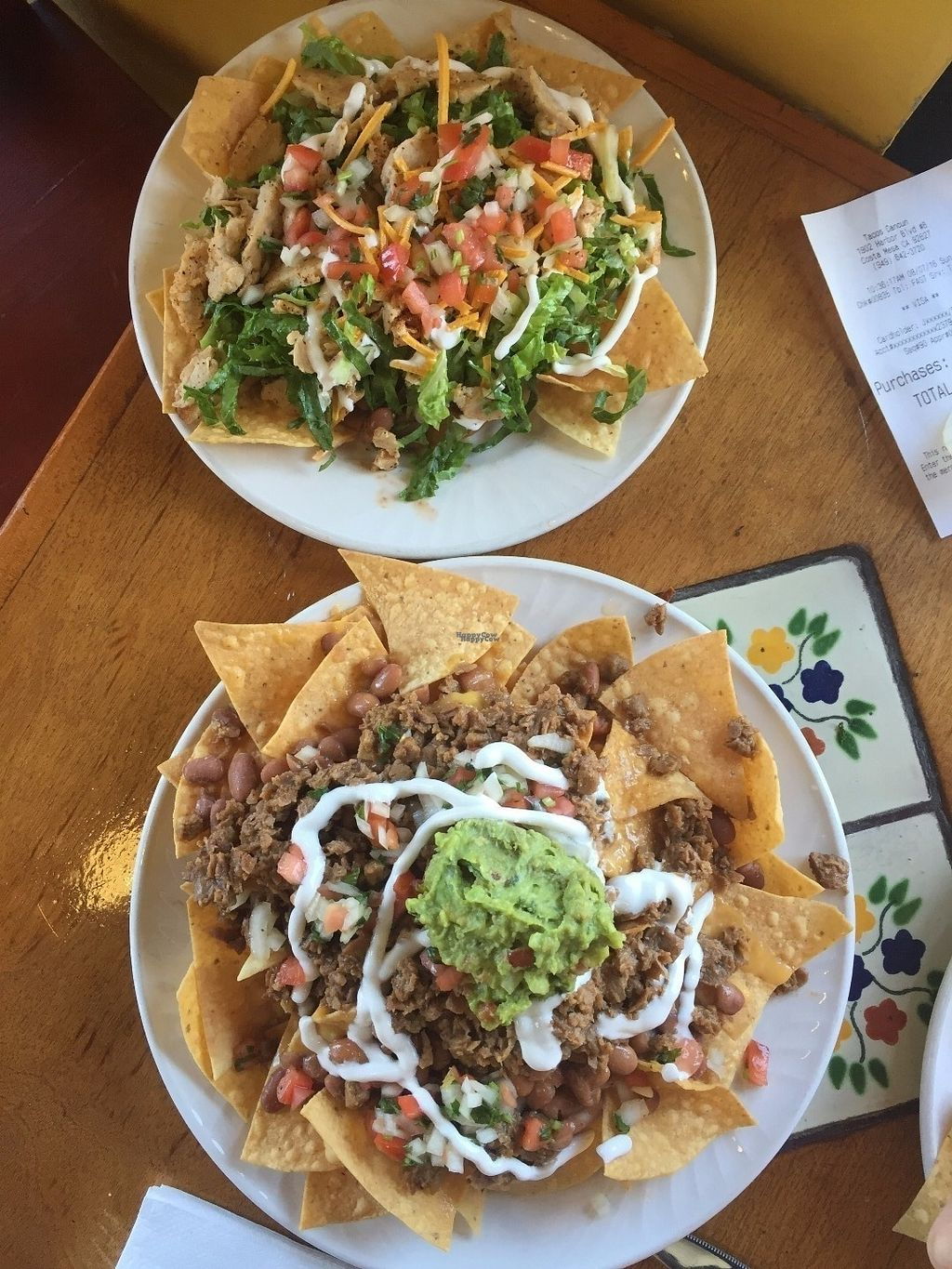 "Photo of Tacos Cancun  by <a href=""/members/profile/Veganbloke"">Veganbloke</a> <br/>vegan nachos and more! <br/> September 11, 2016  - <a href='/contact/abuse/image/34606/175066'>Report</a>"