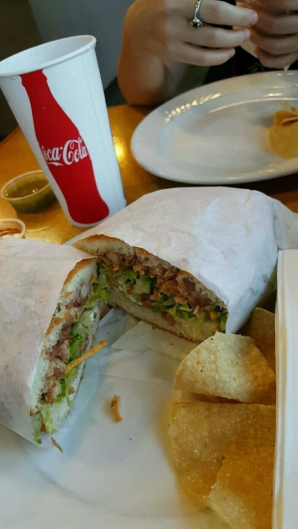 "Photo of Tacos Cancun  by <a href=""/members/profile/tussinwolf"">tussinwolf</a> <br/>Tortas are amazing  <br/> September 23, 2017  - <a href='/contact/abuse/image/34606/307504'>Report</a>"