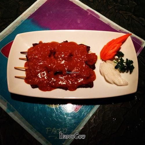 """Photo of Thai Onzon  by <a href=""""/members/profile/vegetariangirl"""">vegetariangirl</a> <br/>satay sticks <br/> February 17, 2013  - <a href='/contact/abuse/image/34634/44331'>Report</a>"""