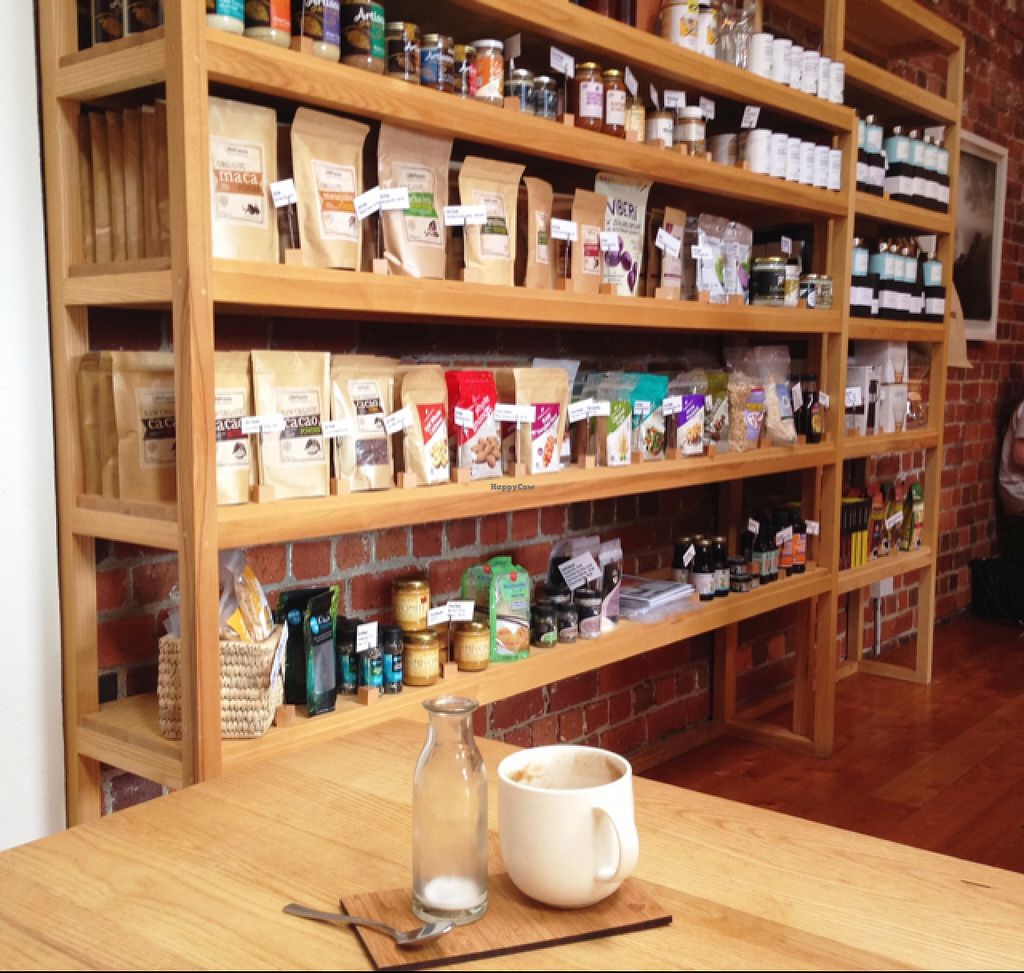 """Photo of CLOSED: Little Bird Organics - Kingsland  by <a href=""""/members/profile/PJantbased"""">PJantbased</a> <br/>selection of goods to buy  <br/> January 11, 2016  - <a href='/contact/abuse/image/34645/132119'>Report</a>"""