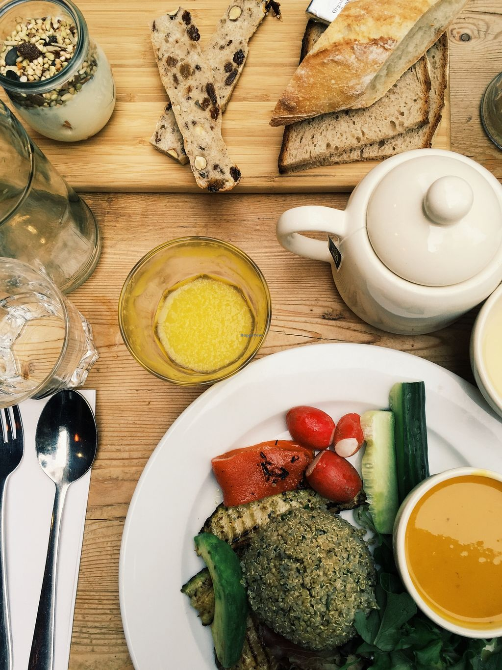 """Photo of Le Pain Quotidien - St. Honore  by <a href=""""/members/profile/Nikoleta"""">Nikoleta</a> <br/>Best vegan brunch! INSTAGRAM: nikita___green  <br/> November 24, 2015  - <a href='/contact/abuse/image/34646/126074'>Report</a>"""