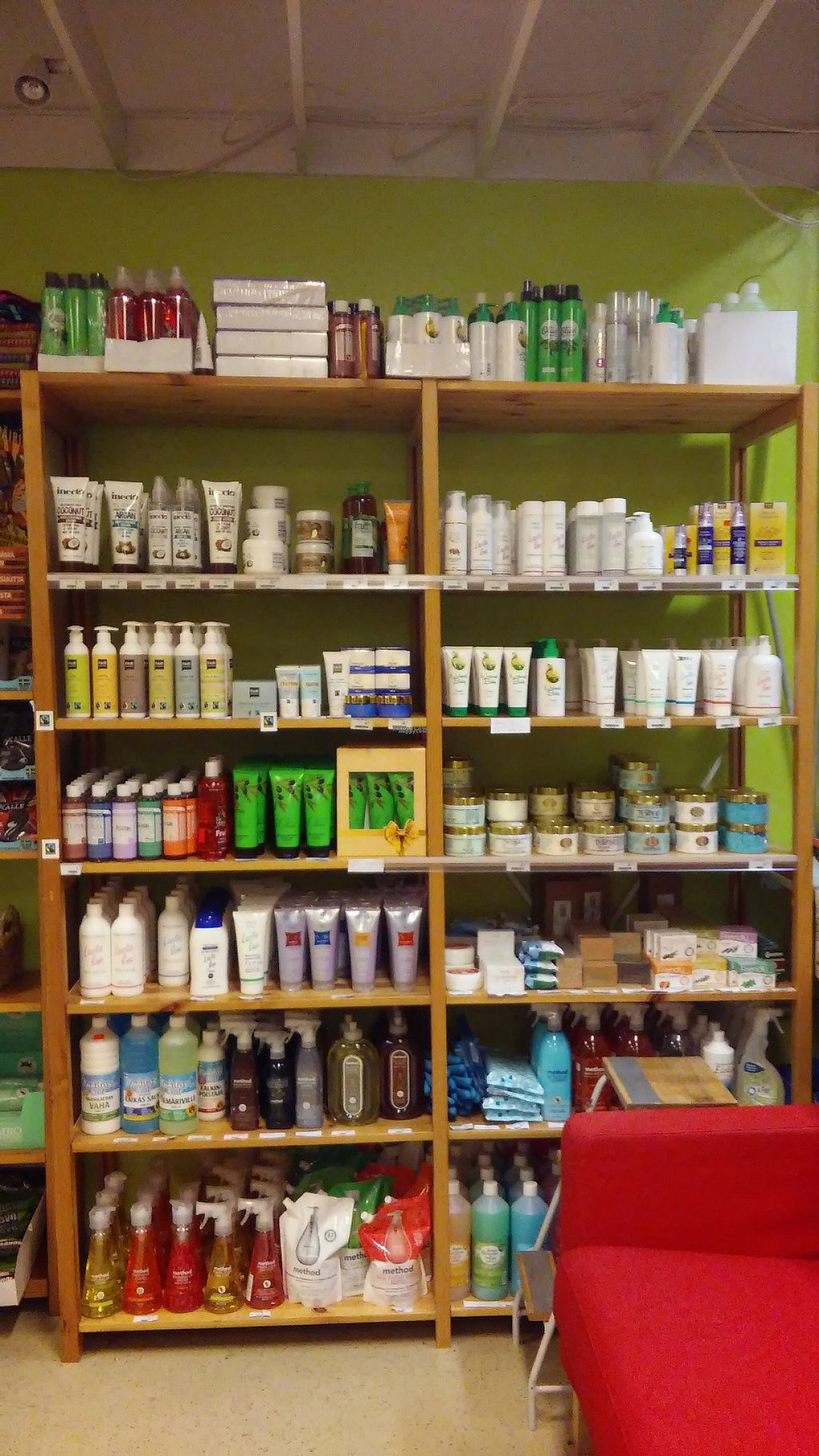 "Photo of Heluna Shop  by <a href=""/members/profile/Heluna"">Heluna</a> <br/>Vegan cosmetics, toiletries and household products are sold in Heluna Shop <br/> December 2, 2016  - <a href='/contact/abuse/image/34648/196552'>Report</a>"