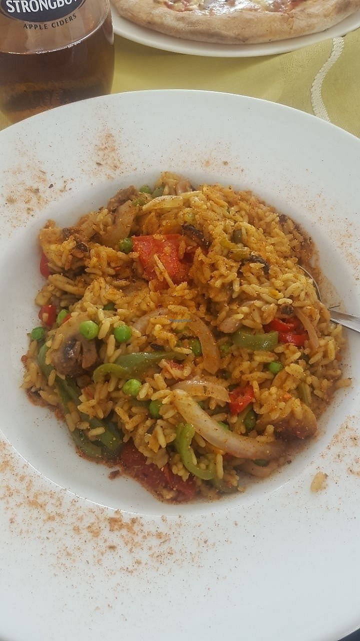 """Photo of Pelagos Restaurant  by <a href=""""/members/profile/the_readheaded_vegan"""">the_readheaded_vegan</a> <br/>Paella <br/> August 7, 2017  - <a href='/contact/abuse/image/34659/290022'>Report</a>"""