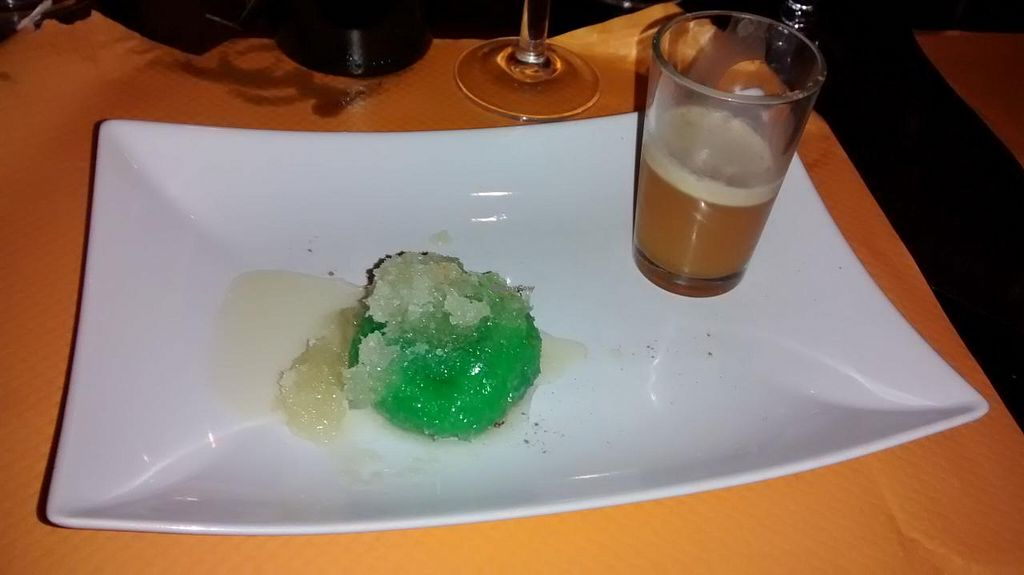 """Photo of O Bali  by <a href=""""/members/profile/JonJon"""">JonJon</a> <br/>Chef's surprise: vegan dessert with agar-agar <br/> December 13, 2014  - <a href='/contact/abuse/image/34661/87894'>Report</a>"""