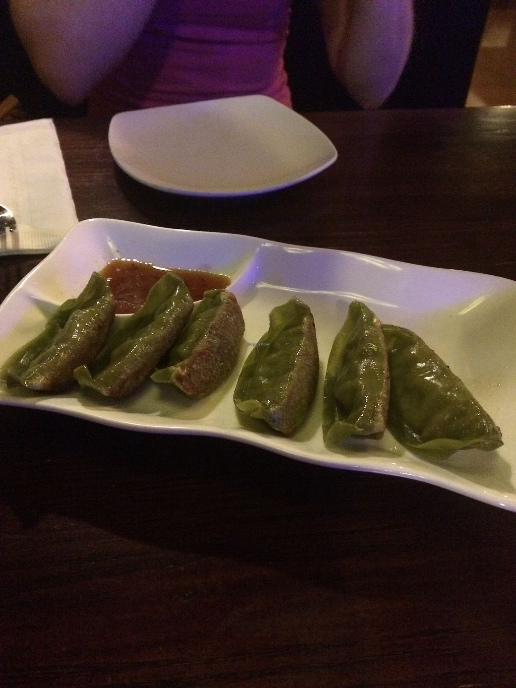 """Photo of Veggie Fun  by <a href=""""/members/profile/giant%20bunnie"""">giant bunnie</a> <br/>vegan fried dumplings  <br/> July 24, 2017  - <a href='/contact/abuse/image/34687/284417'>Report</a>"""