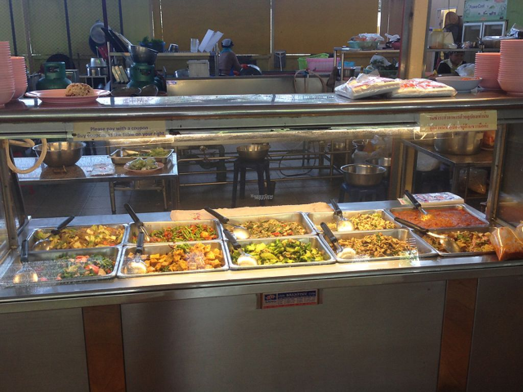 "Photo of Tawanthong Restaurant and Shop  by <a href=""/members/profile/Tofulicious"">Tofulicious</a> <br/>Buffet Options #2 <br/> January 29, 2017  - <a href='/contact/abuse/image/3471/218780'>Report</a>"