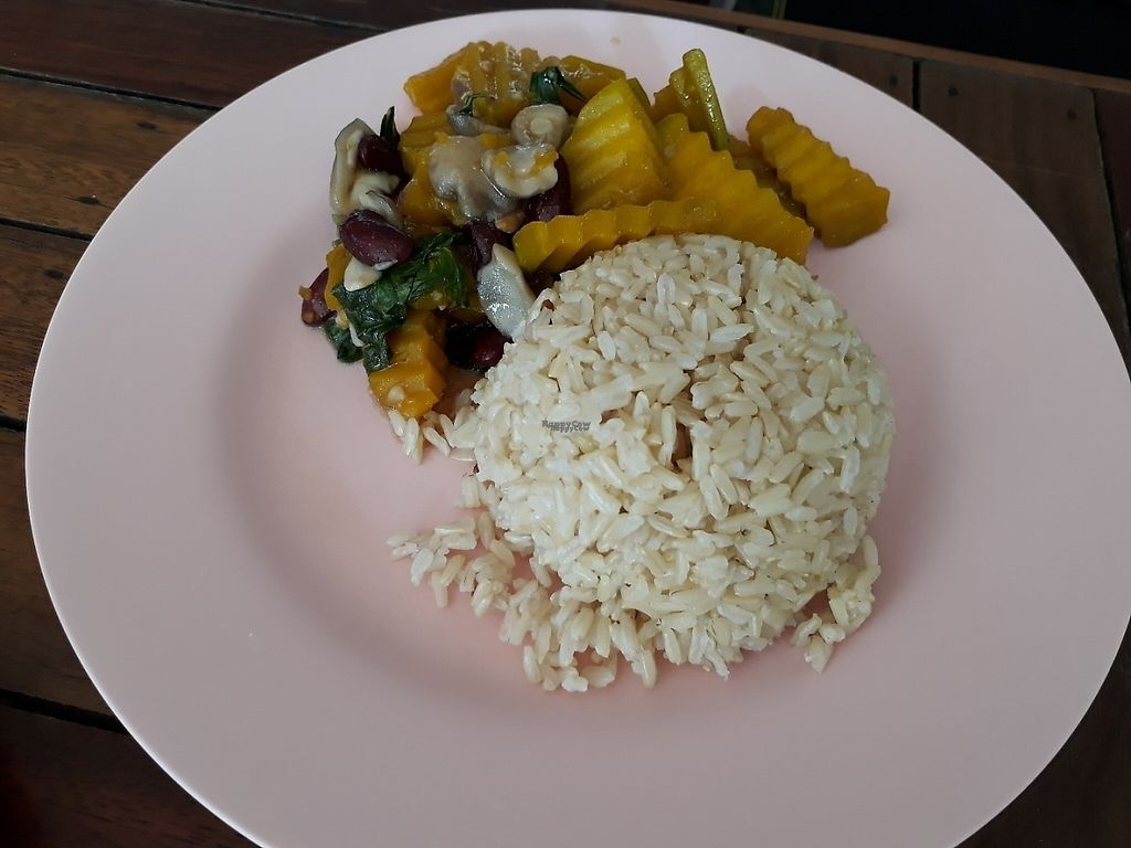 "Photo of Tawanthong Restaurant and Shop  by <a href=""/members/profile/LilacHippy"">LilacHippy</a> <br/>Brown rice and fried pumpkin <br/> February 1, 2017  - <a href='/contact/abuse/image/3471/220524'>Report</a>"