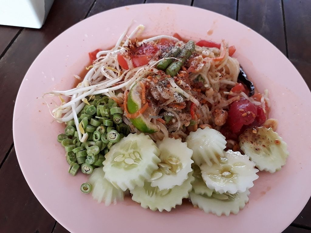 "Photo of Tawanthong Restaurant and Shop  by <a href=""/members/profile/LilacHippy"">LilacHippy</a> <br/>Somtam Thai (Spicy Papaya Salad) <br/> February 1, 2017  - <a href='/contact/abuse/image/3471/220526'>Report</a>"