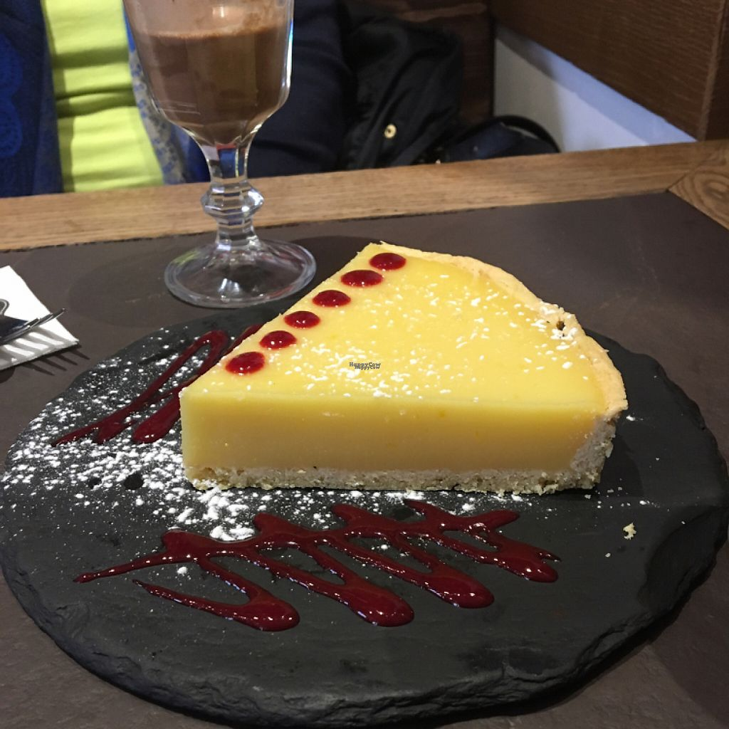"""Photo of Bistrot and Chocolat  by <a href=""""/members/profile/UgulU"""">UgulU</a> <br/>Tarte au citron gluten free and vegan :-) <br/> February 23, 2017  - <a href='/contact/abuse/image/34752/229651'>Report</a>"""