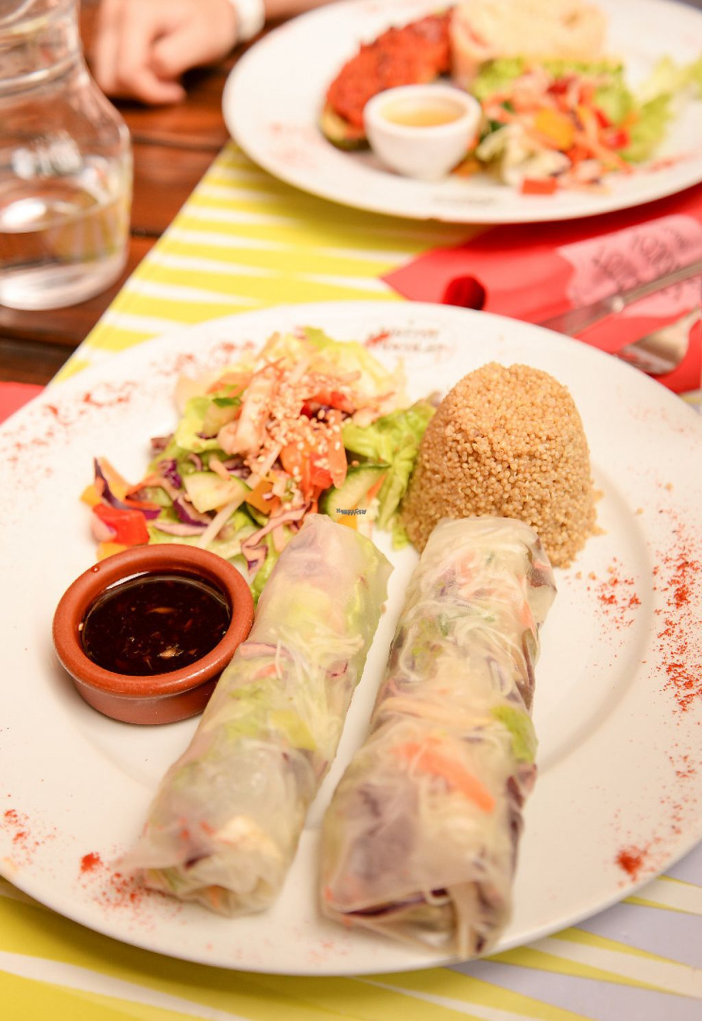 """Photo of Bistrot and Chocolat  by <a href=""""/members/profile/Nais23"""">Nais23</a> <br/>Spring rolls <br/> March 20, 2017  - <a href='/contact/abuse/image/34752/238723'>Report</a>"""