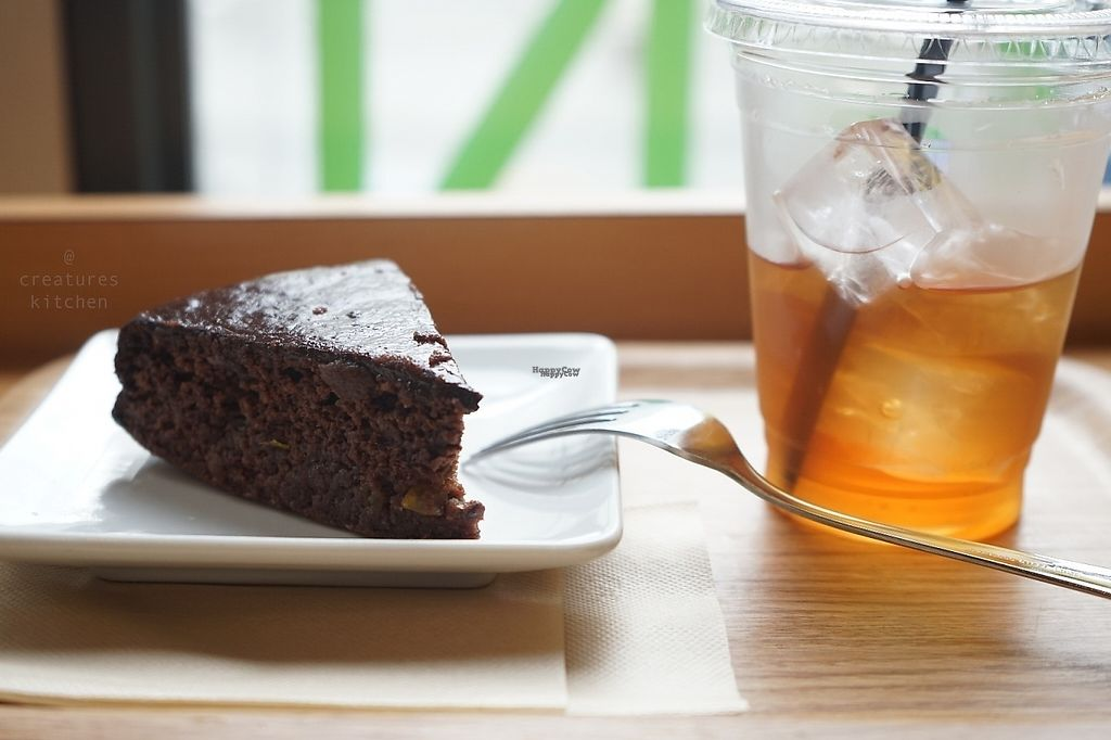"Photo of Genmai Cafe  by <a href=""/members/profile/EmmaCebuliak"">EmmaCebuliak</a> <br/>Vegan sachertorte with iced tea <br/> February 7, 2017  - <a href='/contact/abuse/image/34757/223961'>Report</a>"