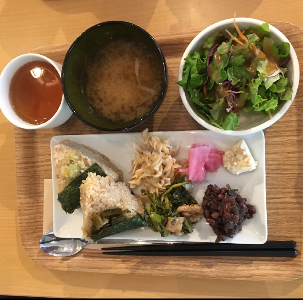 """Photo of Genmai Cafe  by <a href=""""/members/profile/marcodamb"""">marcodamb</a> <br/>delicious vegan platter  <br/> April 16, 2017  - <a href='/contact/abuse/image/34757/248789'>Report</a>"""