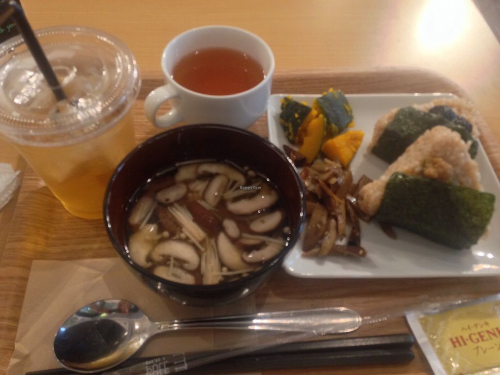 """Photo of Genmai Cafe  by <a href=""""/members/profile/gbsn17"""">gbsn17</a> <br/>The lunch set menu  <br/> October 31, 2017  - <a href='/contact/abuse/image/34757/320404'>Report</a>"""