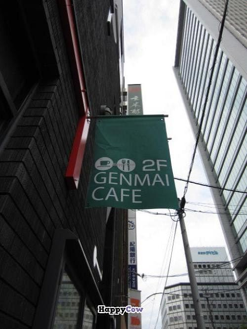 """Photo of Genmai Cafe  by <a href=""""/members/profile/SP"""">SP</a> <br/>Genmai Cafe sign <br/> October 20, 2013  - <a href='/contact/abuse/image/34757/56942'>Report</a>"""