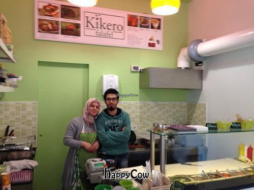 "Photo of Kikero Falafel  by <a href=""/members/profile/BradenPollock"">BradenPollock</a> <br/>Friendly staff <br/> March 29, 2013  - <a href='/contact/abuse/image/34768/46205'>Report</a>"