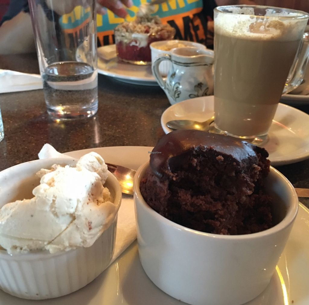 "Photo of Lastbus Works Canteen  by <a href=""/members/profile/radiocaz"">radiocaz</a> <br/>muffin and ice cream with the apple crumble in the background <br/> April 9, 2016  - <a href='/contact/abuse/image/34771/143567'>Report</a>"