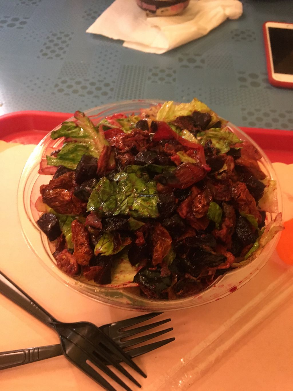 """Photo of Ice Cream House - Bedford Ave  by <a href=""""/members/profile/770veg"""">770veg</a> <br/>Salad bar attack <br/> March 30, 2018  - <a href='/contact/abuse/image/34790/378062'>Report</a>"""