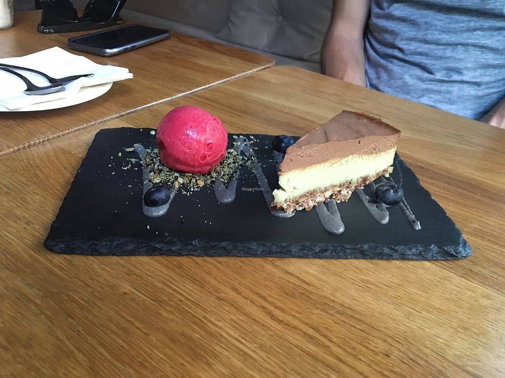 """Photo of Gratitude Restaurant  by <a href=""""/members/profile/KelseyHudspeth"""">KelseyHudspeth</a> <br/>cashew cheese cake to die for! <br/> July 12, 2017  - <a href='/contact/abuse/image/34817/279402'>Report</a>"""