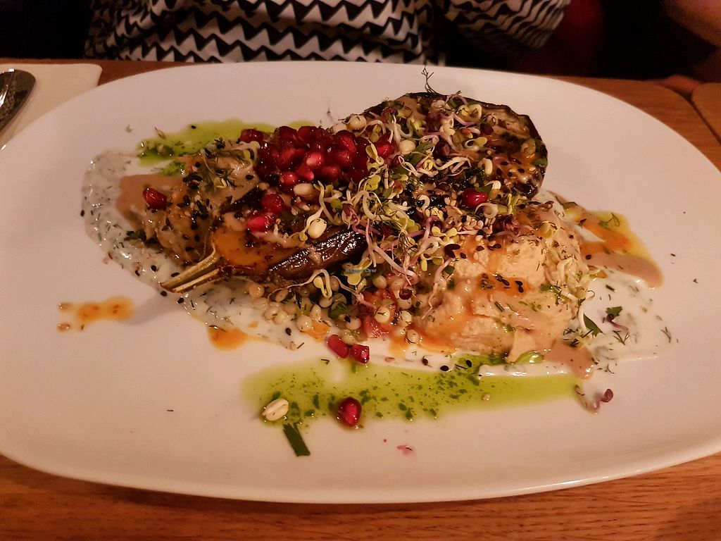 """Photo of Gratitude Restaurant  by <a href=""""/members/profile/Plankton"""">Plankton</a> <br/>Gegrillte Aubergine <br/> May 17, 2018  - <a href='/contact/abuse/image/34817/401151'>Report</a>"""