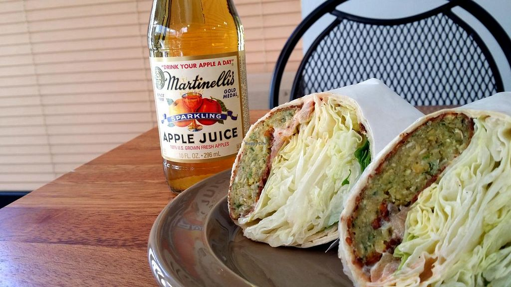 "Photo of CLOSED: Jack's Bean  by <a href=""/members/profile/Gally"">Gally</a> <br/>The always-delicious falafel wrap <br/> July 19, 2015  - <a href='/contact/abuse/image/34837/109983'>Report</a>"
