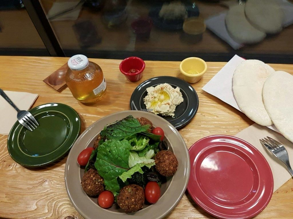 "Photo of CLOSED: Jack's Bean  by <a href=""/members/profile/natalik"">natalik</a> <br/>Hummus, falafel and salad set <br/> September 25, 2016  - <a href='/contact/abuse/image/34837/177796'>Report</a>"