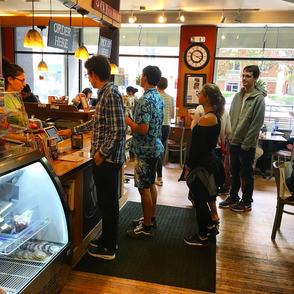 """Photo of VO2 Vegan Cafe  by <a href=""""/members/profile/StephanieKirkpatrick"""">StephanieKirkpatrick</a> <br/>popular cafe <br/> June 27, 2017  - <a href='/contact/abuse/image/34862/274141'>Report</a>"""