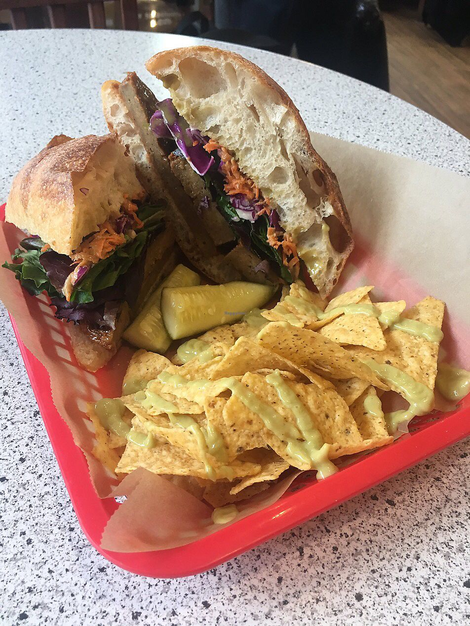 """Photo of VO2 Vegan Cafe  by <a href=""""/members/profile/StephanieKirkpatrick"""">StephanieKirkpatrick</a> <br/>the Banh Mími <br/> June 27, 2017  - <a href='/contact/abuse/image/34862/274147'>Report</a>"""